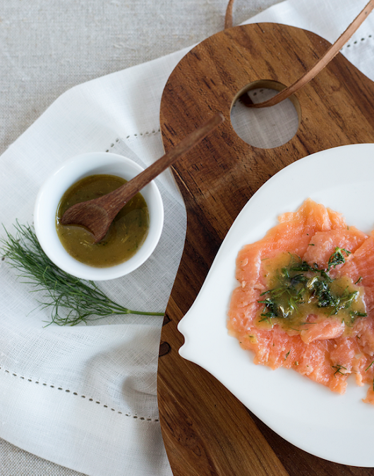 Gravlax to Eat From the GAPS Intro Diet stage 2